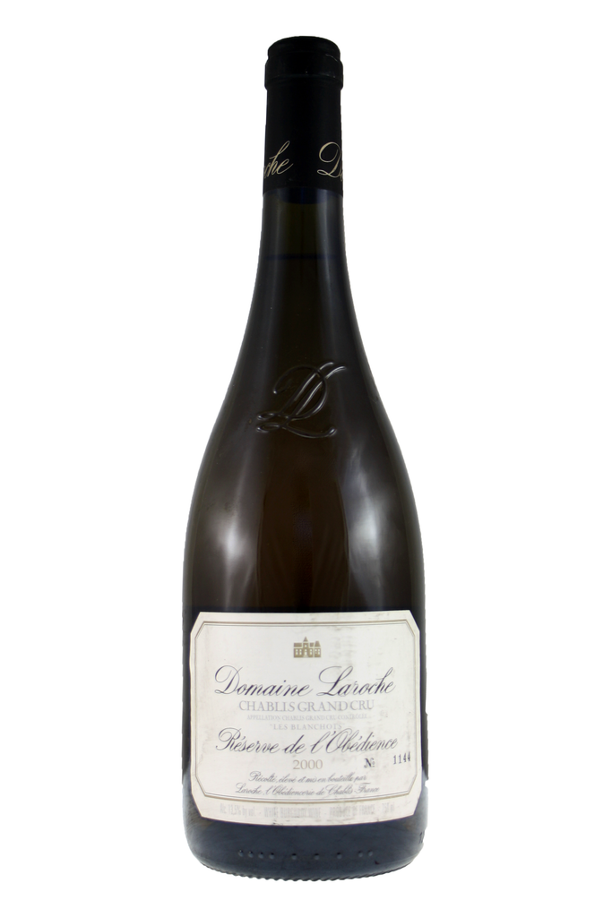 Réserve de l'Obédience Chablis Grande Cru Domaine Laroche 2000, Chablis, Burgundy, 2000