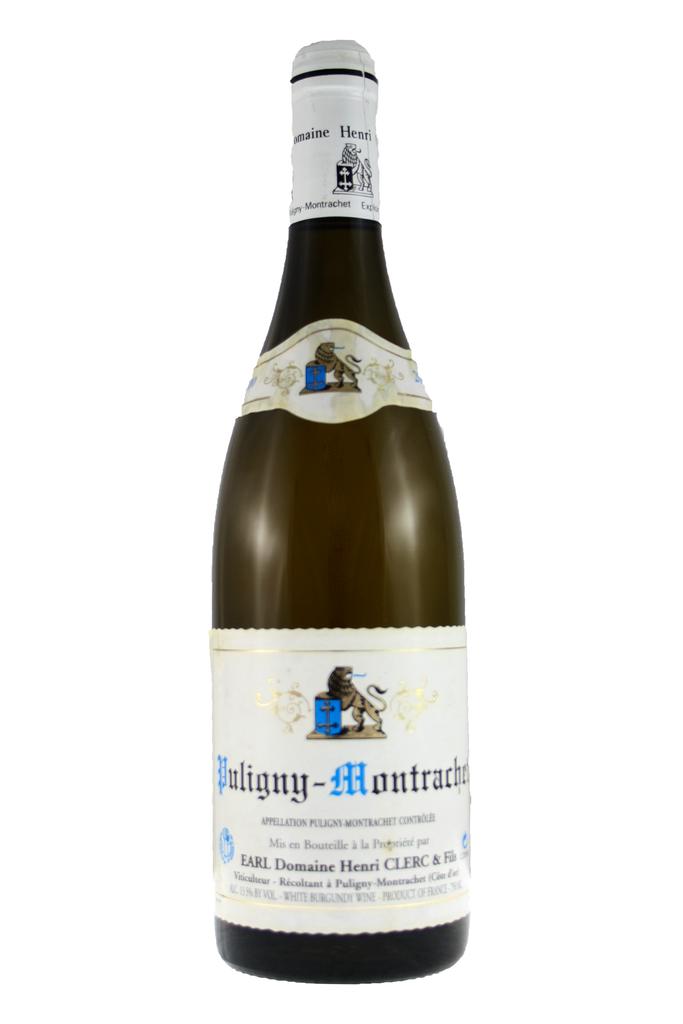 Puligny Montrachet Domaine Henri Clerc & Fils, Cote de Beaune, Burgundy, 2000