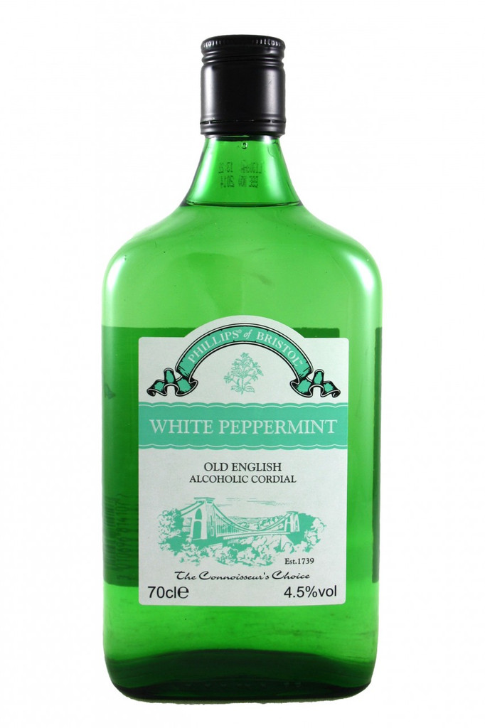 Phillips White Peppermint Alcoholic Cordial