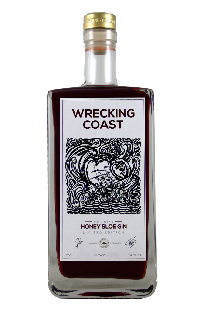 The Wrecking Coast Honey Sloe Gin