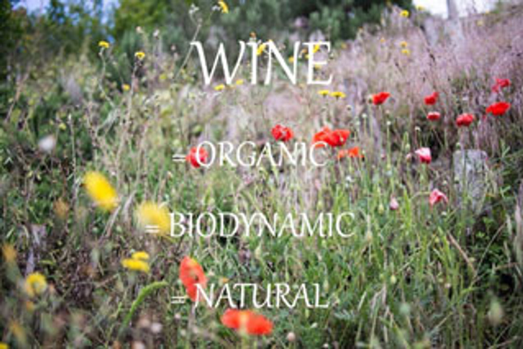 Put a spring in your step (Organic/Biodynamic/Natural)