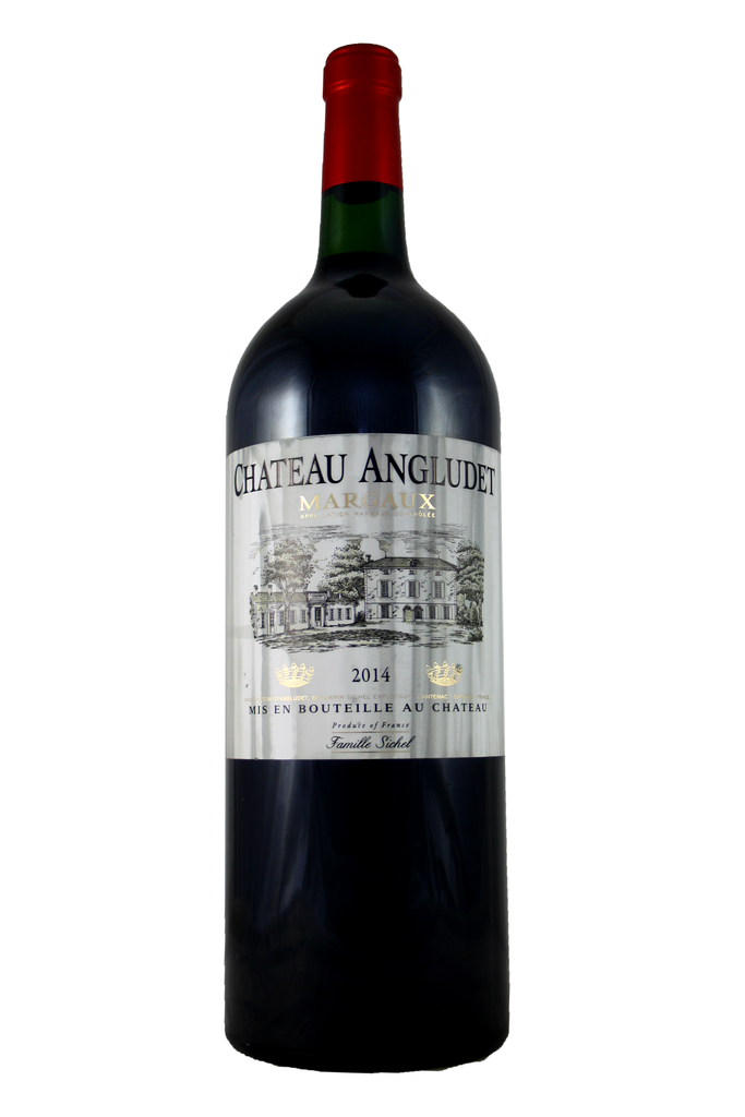 Chateau Angludet Magnum Stained Labels 2014