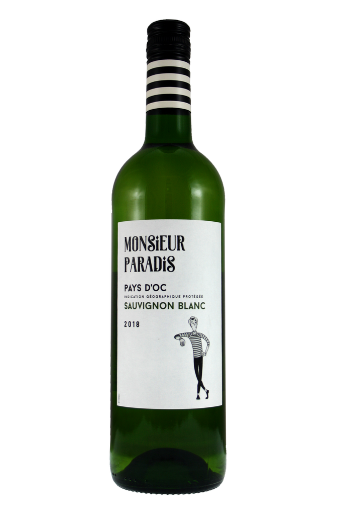 Monsieur Paradis Sauvignon Blanc, Pays D'oc, France 2019