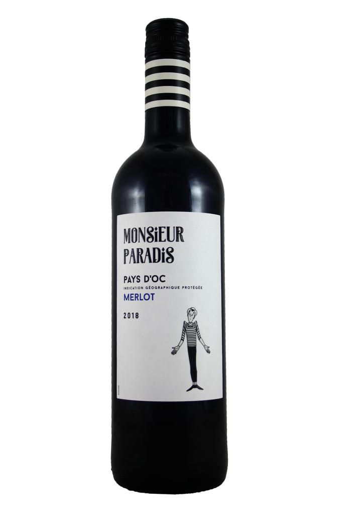 Monsieur Paradis Merlot, Pays D'oc, Languedoc, France