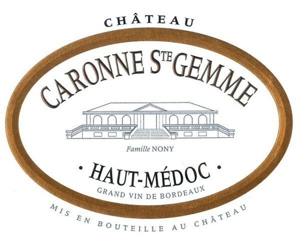 Chateau Caronne St Gemme 2019 12 x 75cl