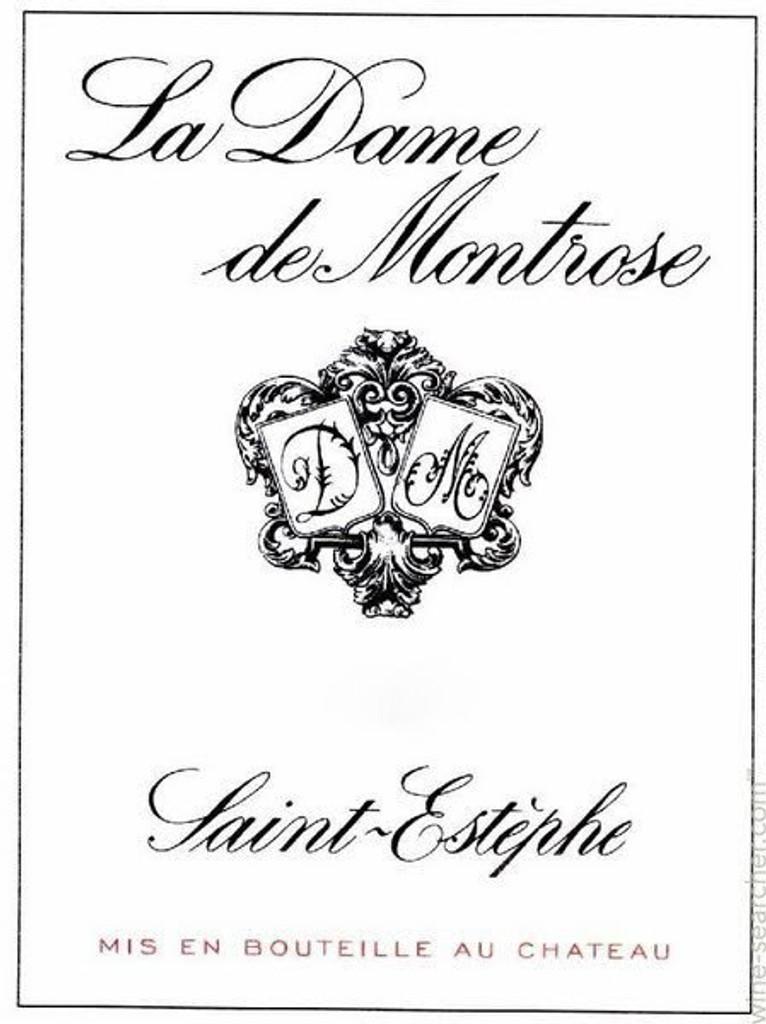 Chateau Montrose Dame de la Montrose 2019 12 x 75cl