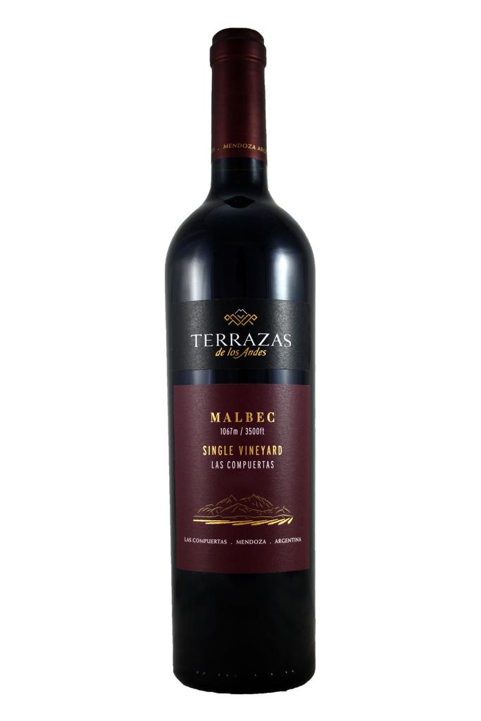 Terrazas Single Vineyard Malbec 2015, Las Compuertas vineyard, Mendoza, Argentina