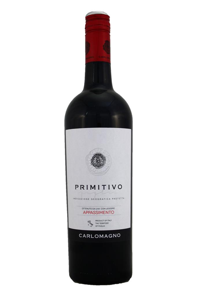Carlomagno Primitivo Appassimento, Puglia, Italy, 2019