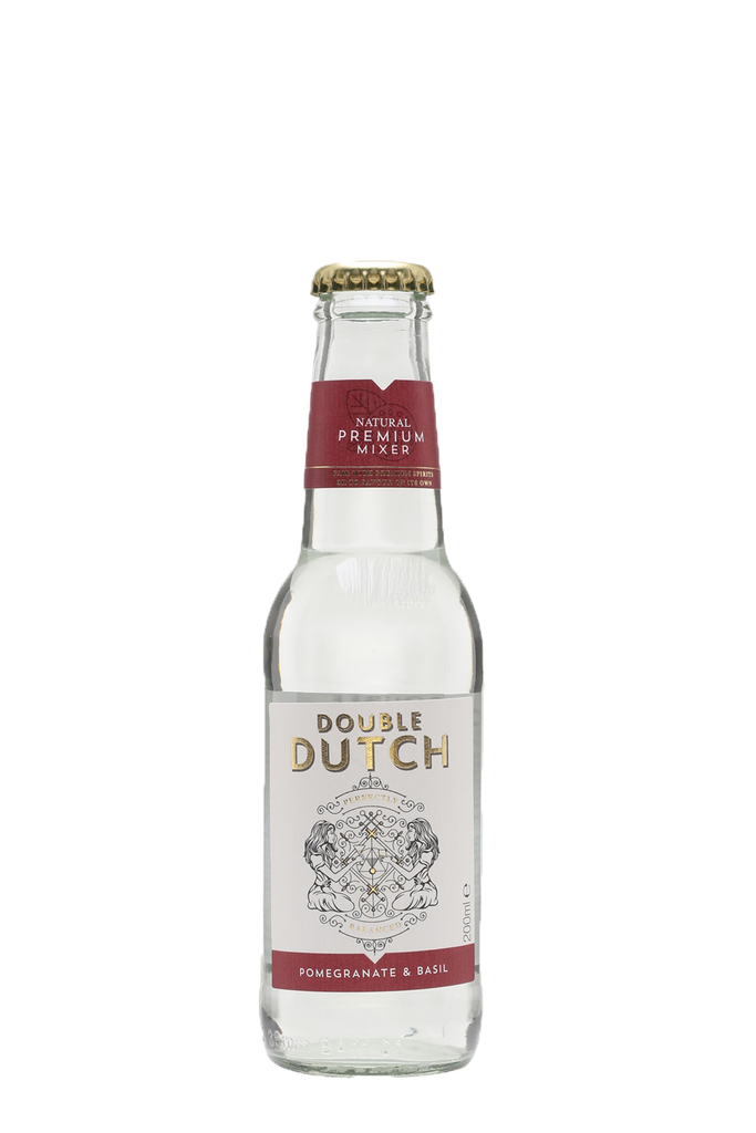 Double Dutch Pomegranate & Basil Tonic Water
