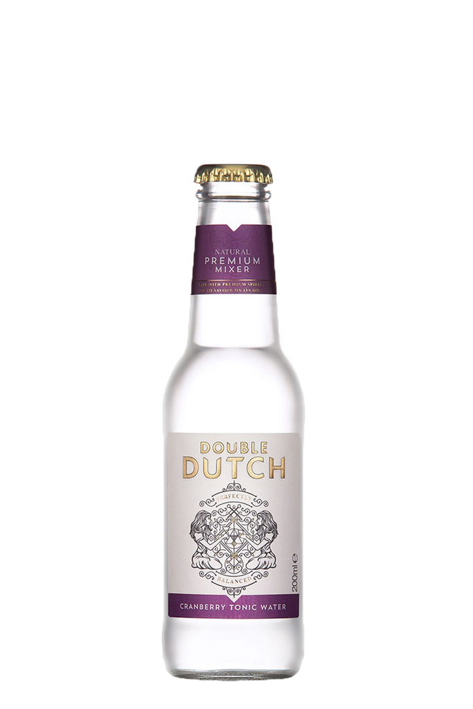 Double Dutch Cranberry & Ginger Tonic Water