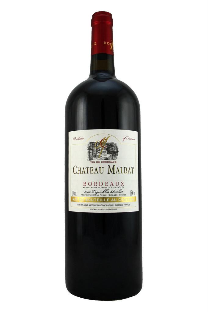 Château Malbat Magnum, Vin De Bordeaux, France, 2018