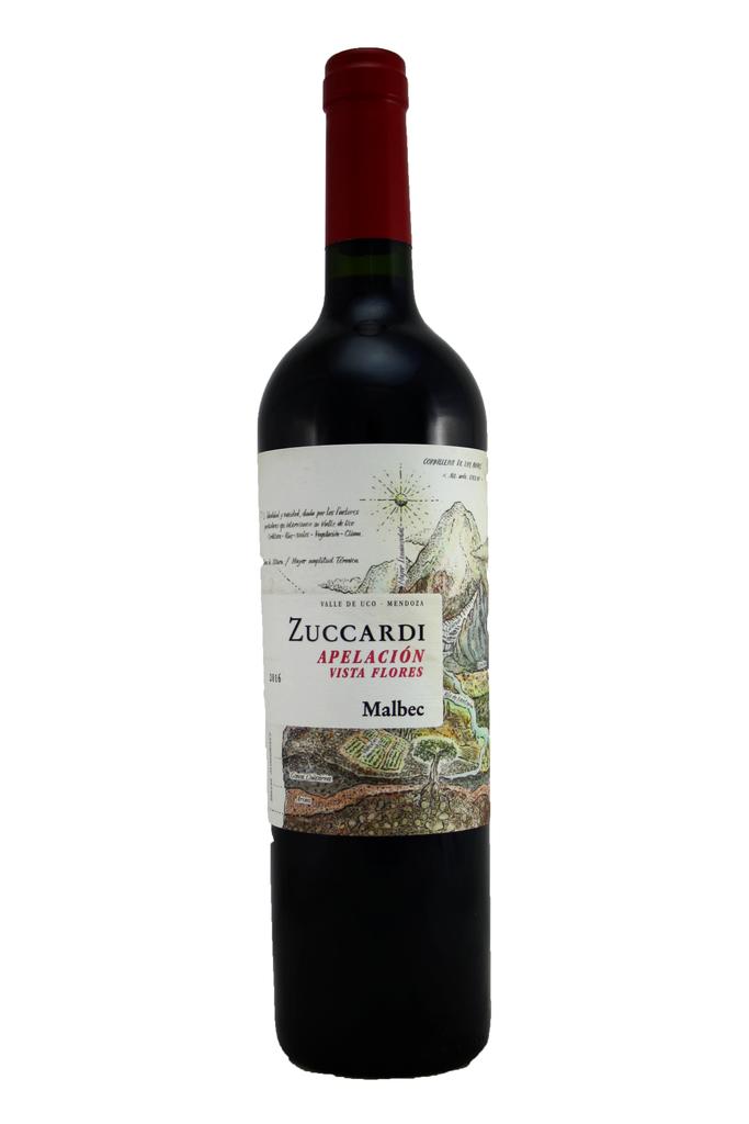 Zuccardi Apelacion Vista Flores Malbec, La Aricole Winery, Mendoza, Argentina 2018