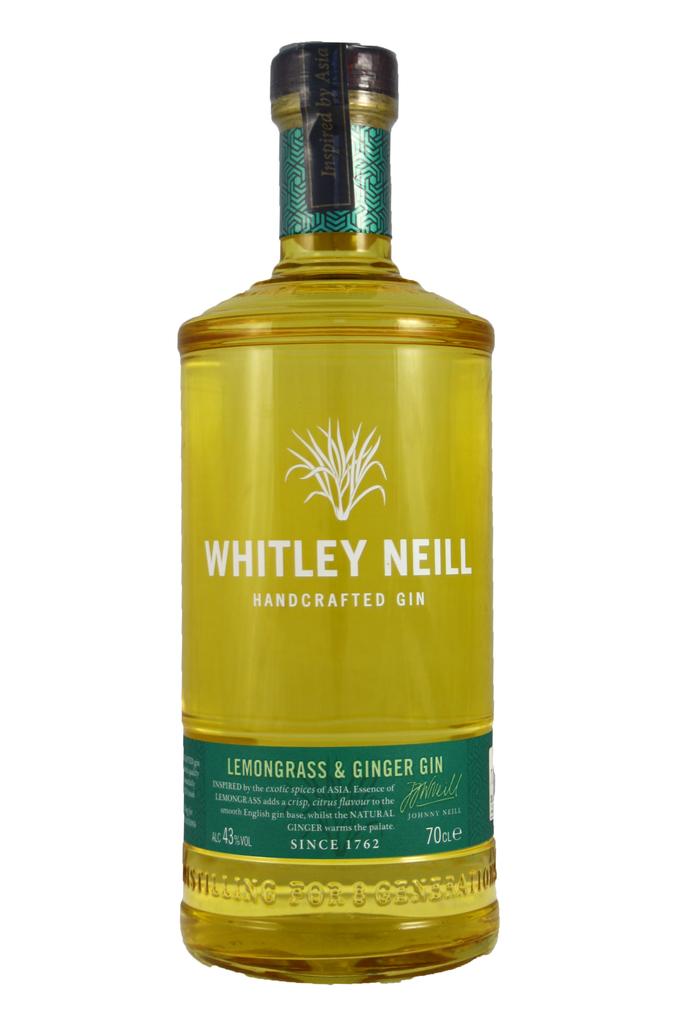 Whitley Neill Ginger and Lemongrass Gin