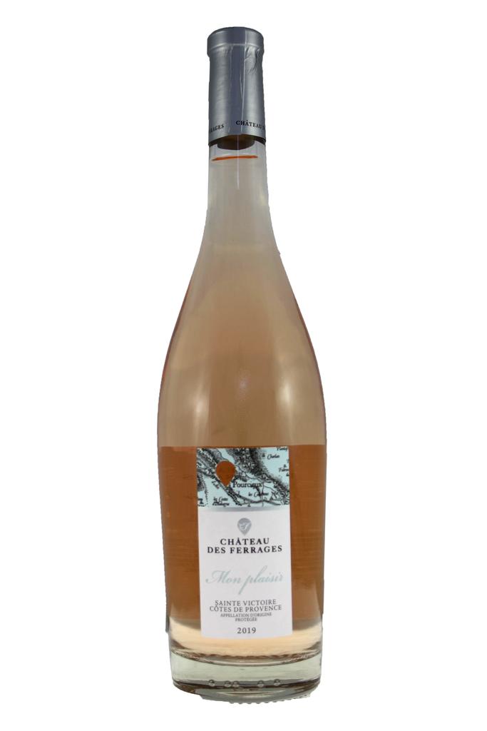 Mon Plaisir Rosé Château des Ferrages, Côtes de Provence, France, 2019