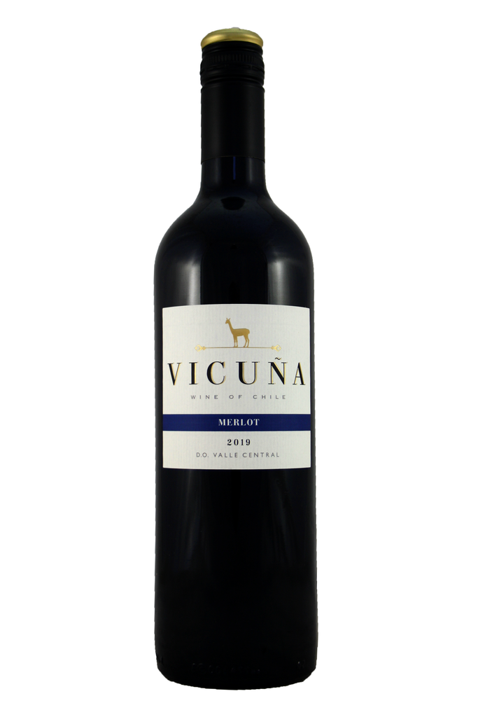 Vicuna Chilean Merlot 2019, Central Valley, Chile