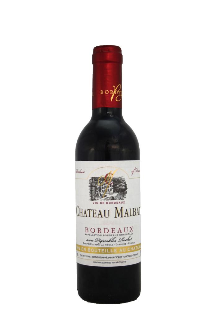 Chateau Malbat, Bordeaux, France, Half Bottle 2019
