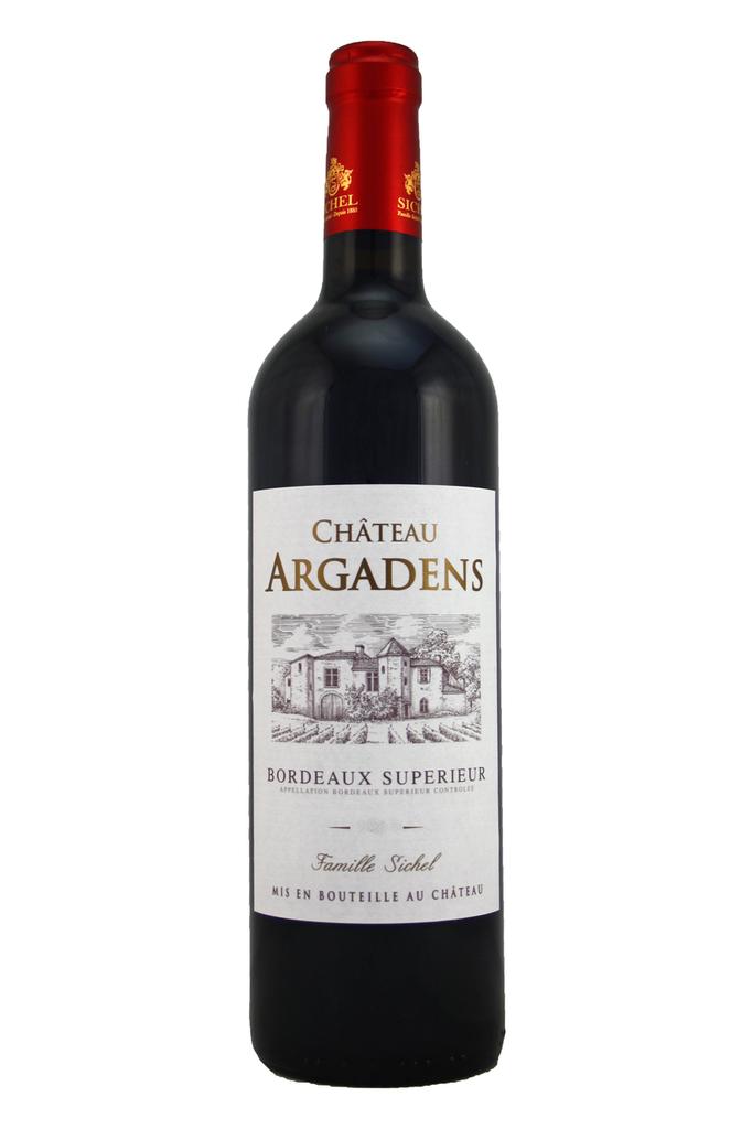 Château Argadens Bordeaux Superieur 2016, Entre deux Mers, Bordeaux, France
