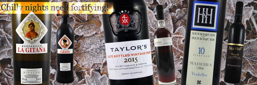 BWS Christmas Fortified Tasting Wines