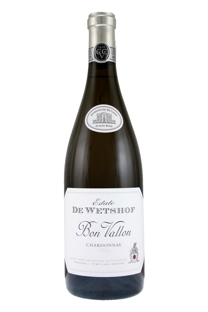 De Wetshof Bon Vallon Unwooded Chardonnay, Robertson, South Africa 2020