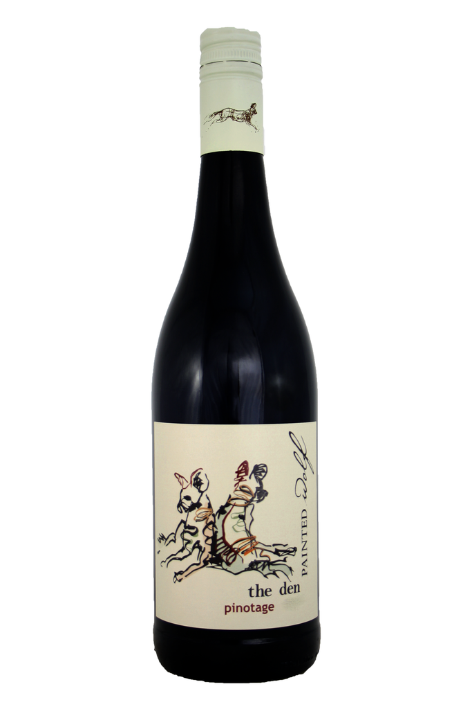 The Den Series Pinotage 2019, Painted Wolf Wines, South Africa