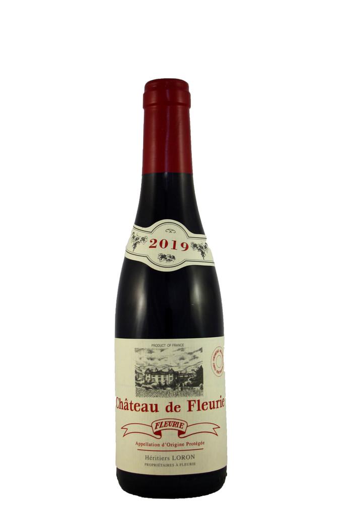 Fleurie Château De Fleurie Hértiers Half Bottle, Jean Loron, Beaujolais 2019