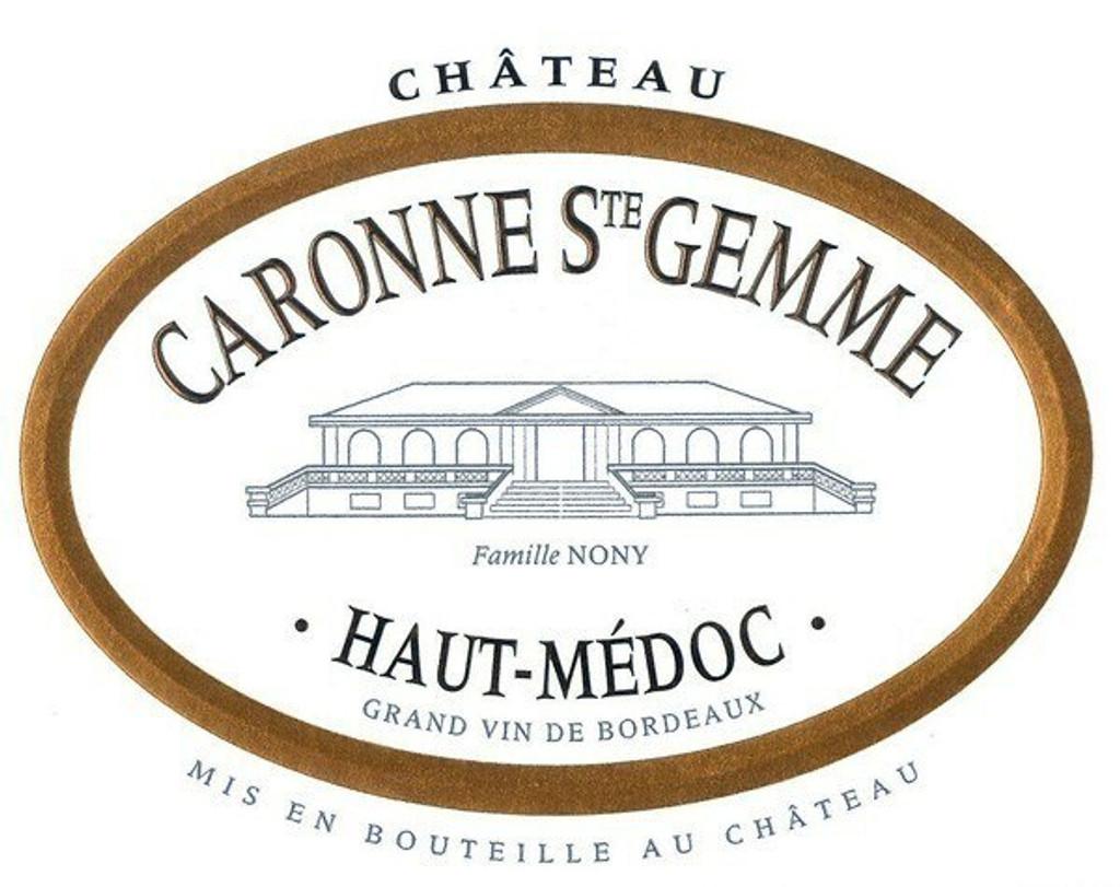 Chateau Caronne St Gemme 2020 12 x 75cl En Primeur
