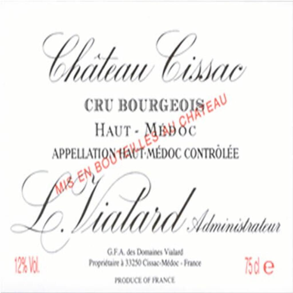 Chateau Cissac 2020 12 x 75cl En Primeur