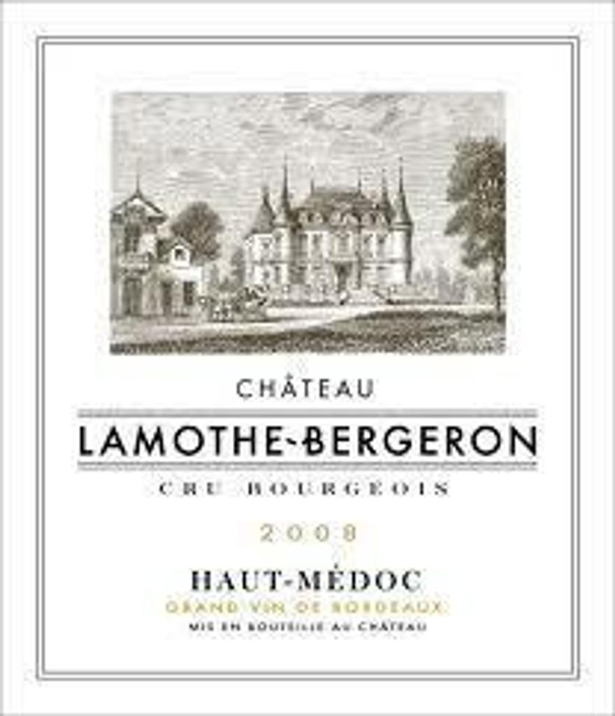 Chateau Lamothe Bergeron 2020 6 x 75cl En Primeur