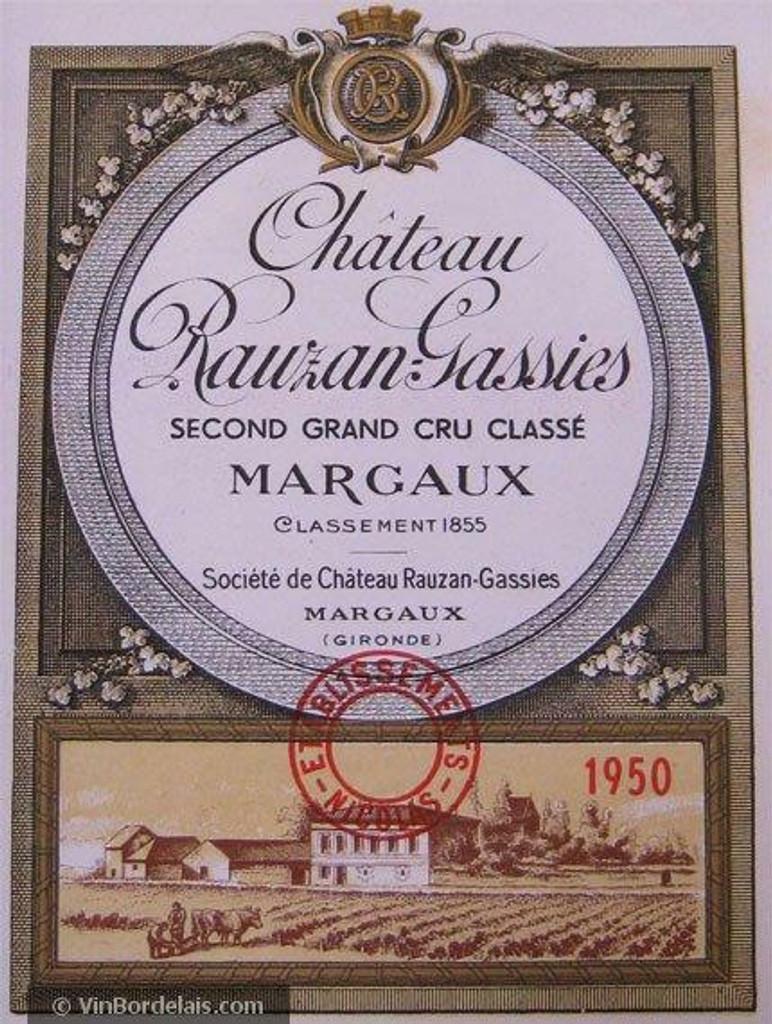 Chateau Rauzan Gassies 2020 12 x 75cl En Primeur