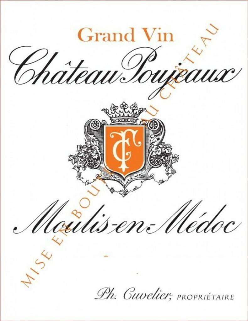 Chateau Poujeaux 2020 12 x 75cl En Primeur