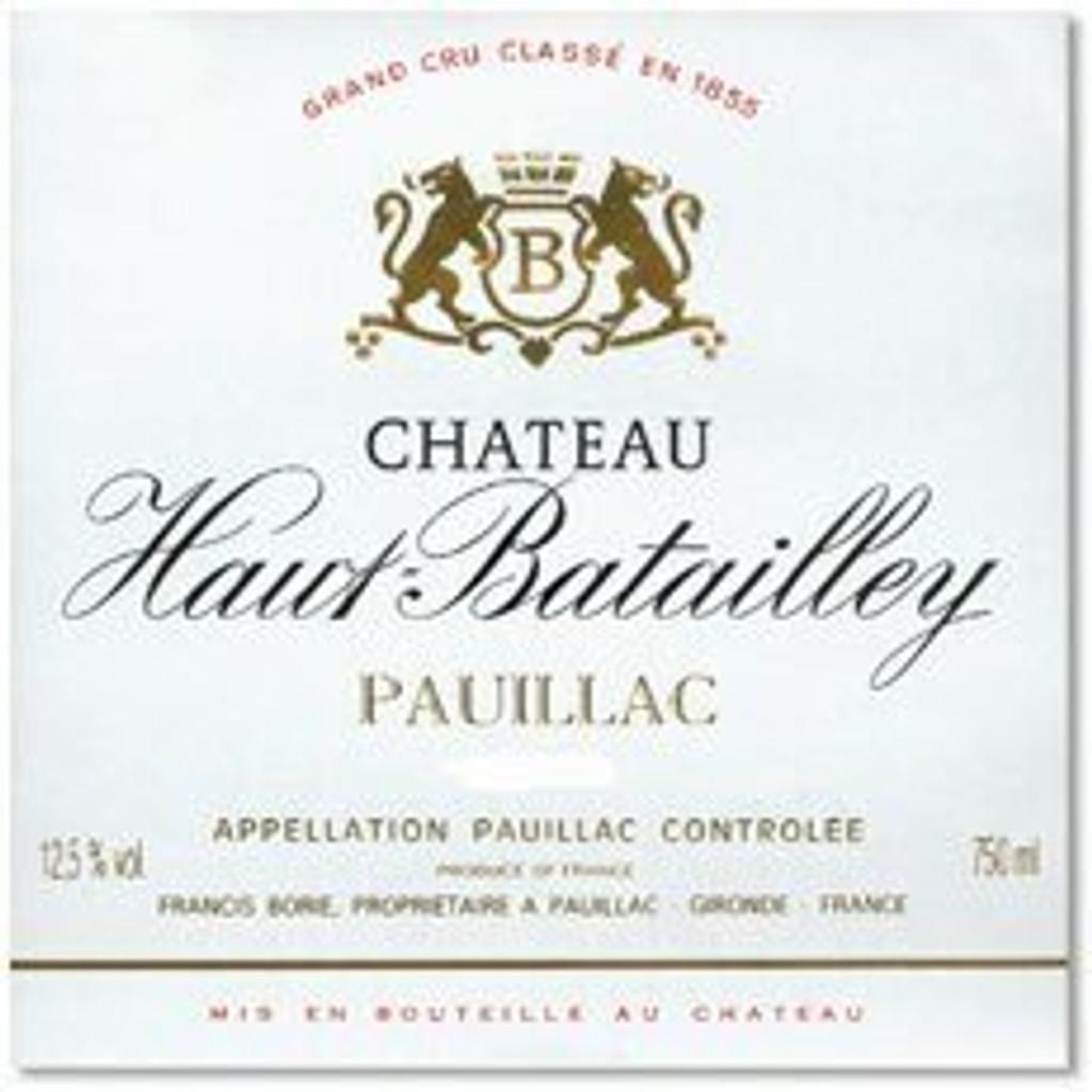 Chateau Haut Batailley 2020 6 x 75cl En Primeur