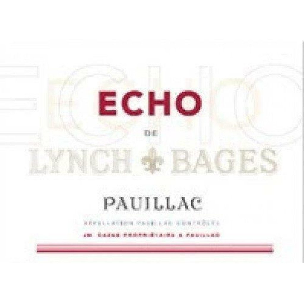 Chateau Lynch Bages Echo de Lynch Bages 2020 12 x 75cl En Primeur