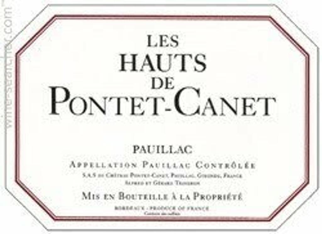 Chateau Pontet Canet Hauts de Pontet Canet 2020 12 x 75cl En Primeur