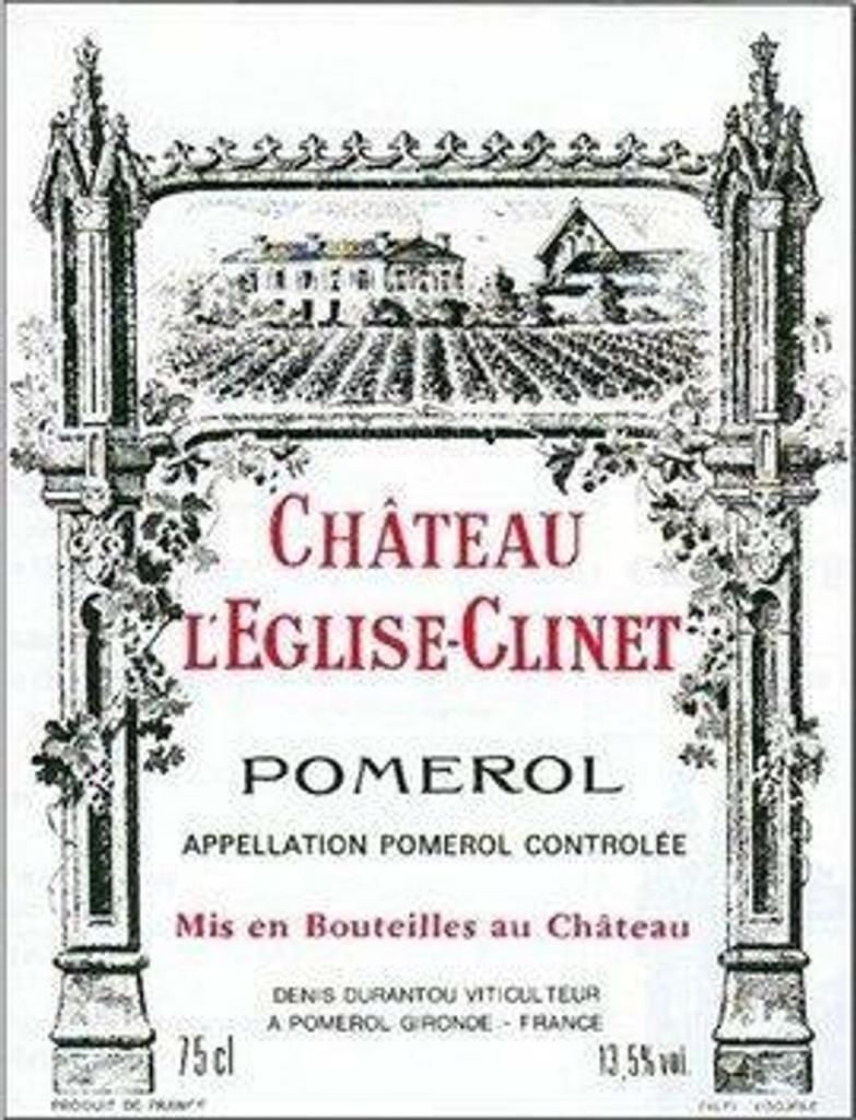 Chateau L'Eglise Clinet 2020 6 x 75cl En Primeur