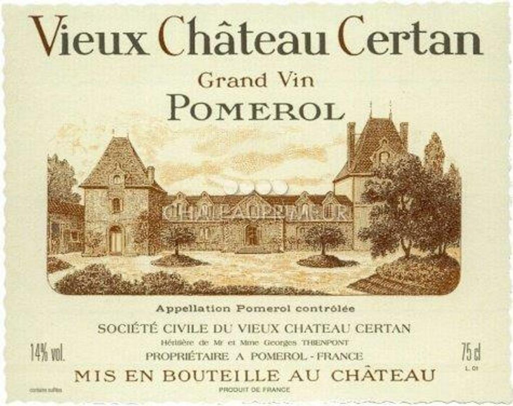 Vieux Chateau Certan 2020 6 x 75cl En Primeur
