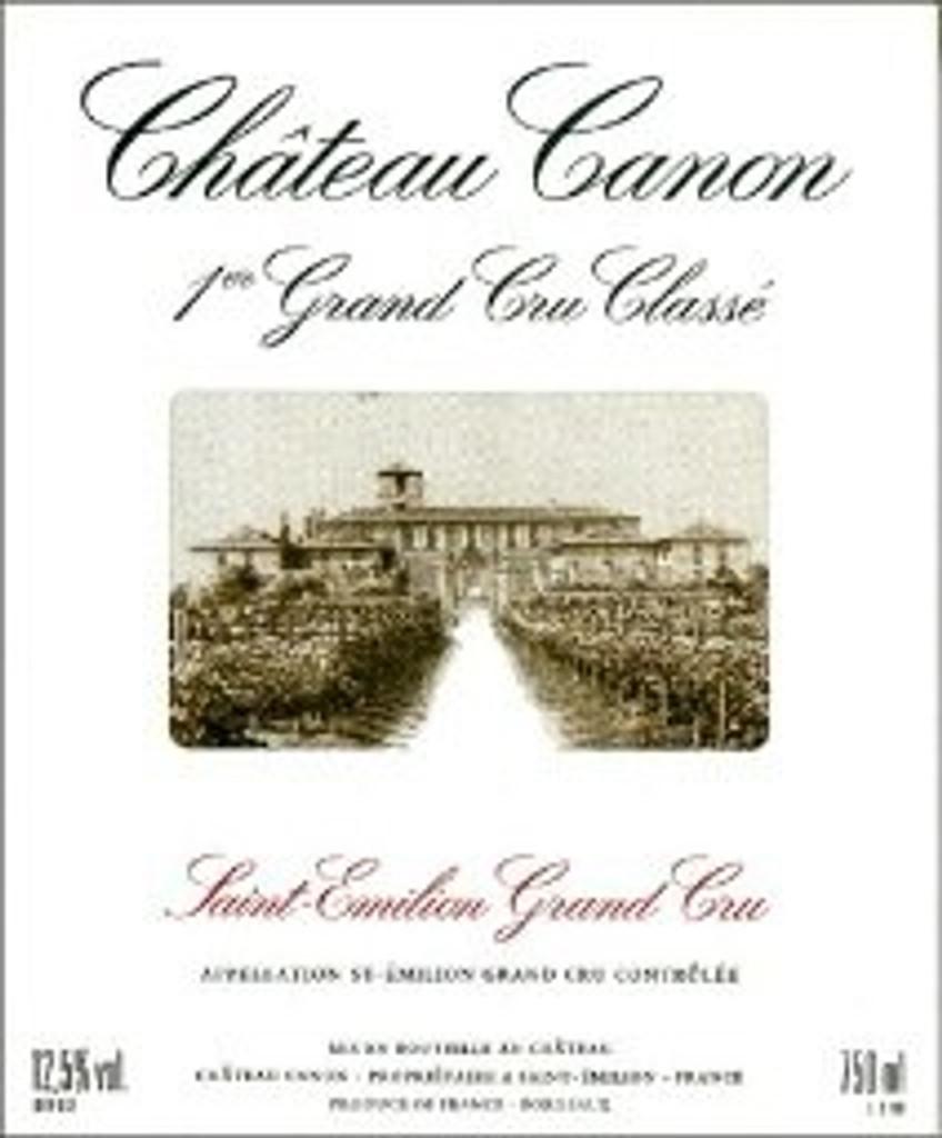 Chateau Canon 2020 6 x 75cl En Primeur