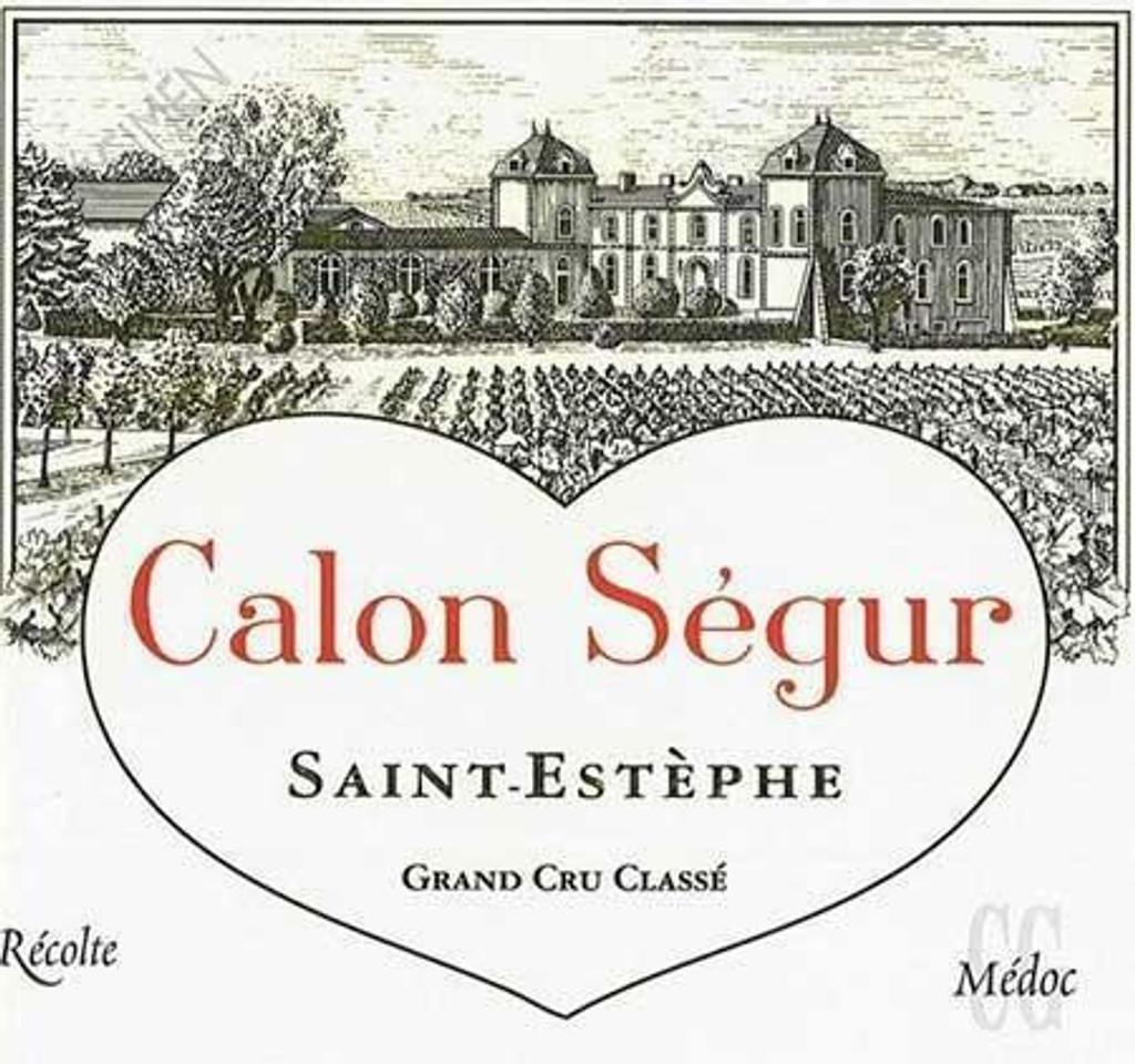 Chateau Calon Segur 2020 12 x 75cl En Primeur