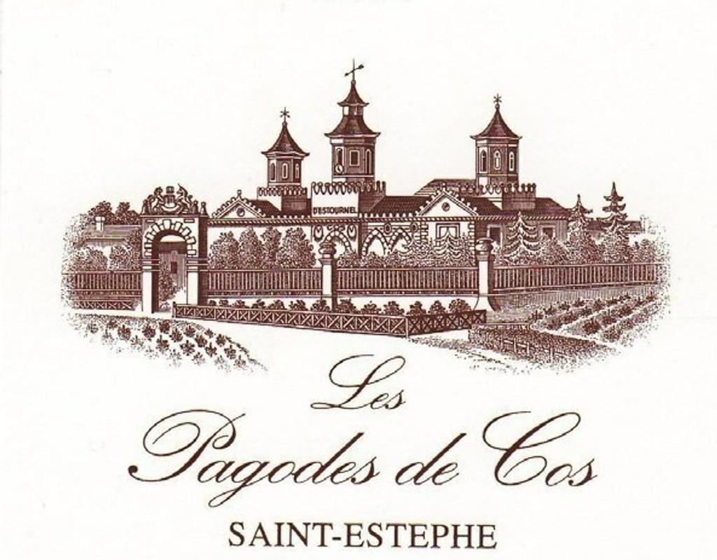 Chateau Cos D Estournal Pagodes de Cos 2020 12 x 75cl En Primeur