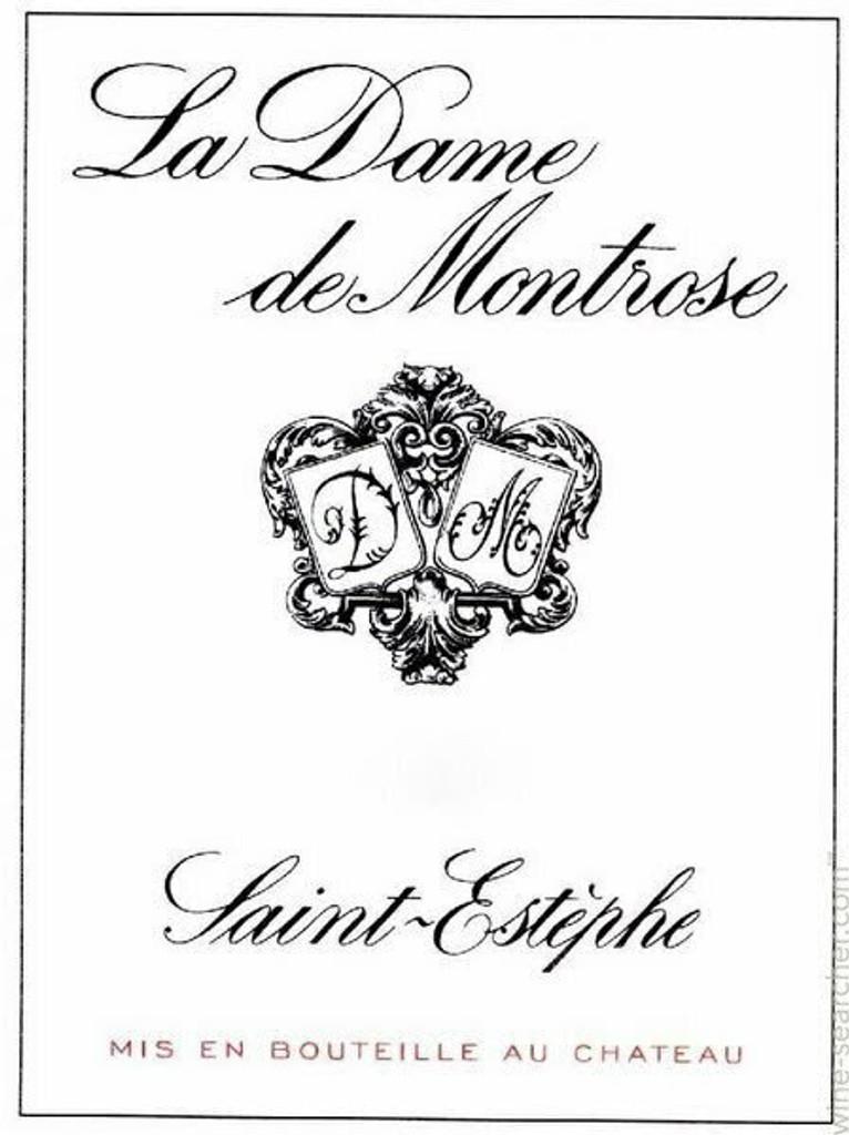 Chateau Montrose Dame de la Montrose 2020 12 x 75cl En Primeur