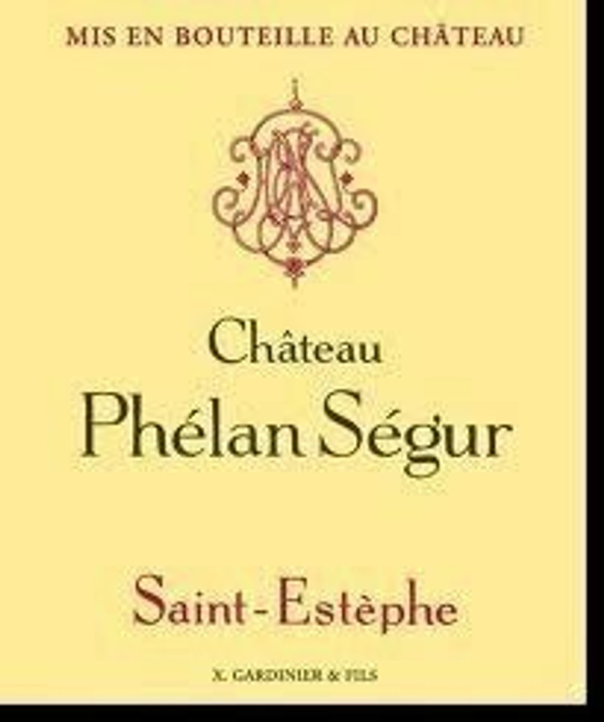 Chateau Phelan Segur 2020 12 x 75cl En Primeur