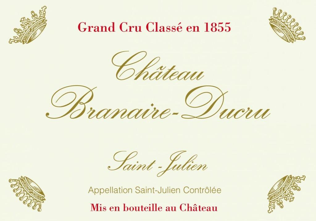 Chateau Branaire Ducru 2020 6 x 75cl En Primeur