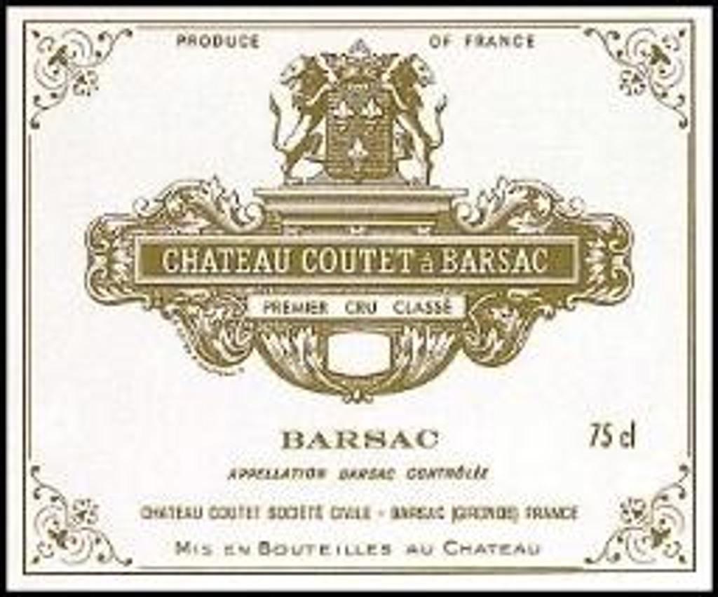 Chateau Coutet 2020 6 x 75cl En Primeur