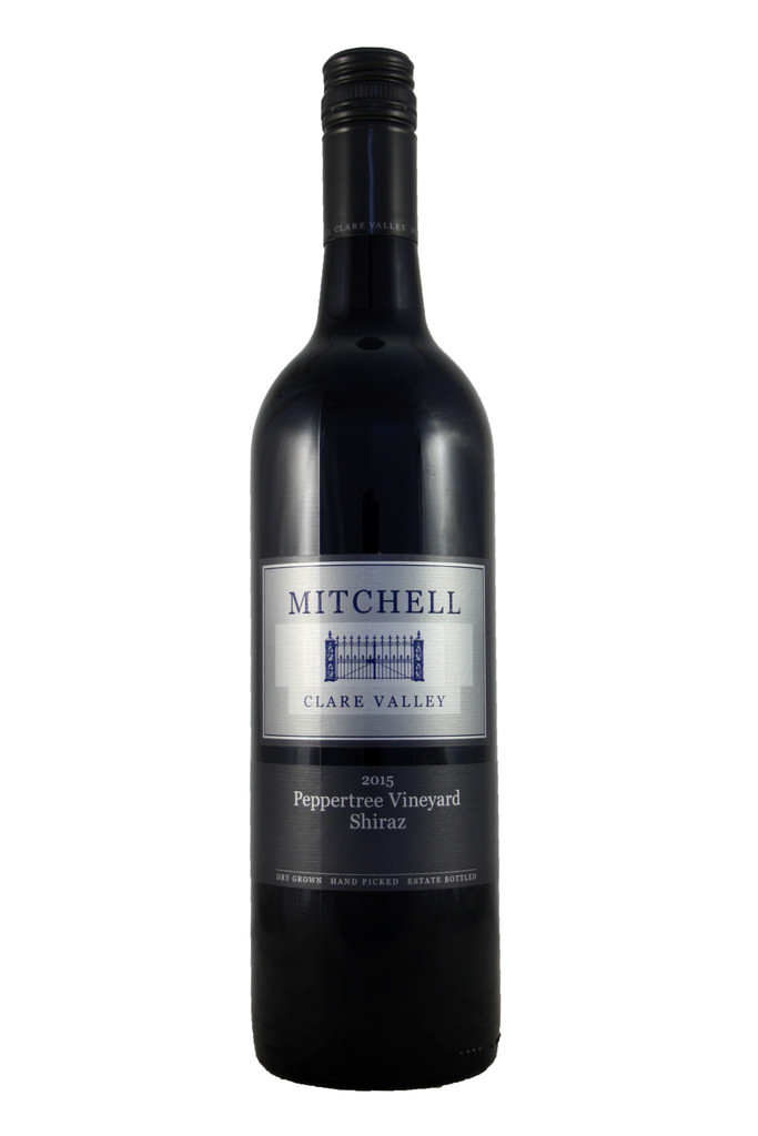 Mitchell Peppertree Shiraz, Clare Valley, South Australia 2015