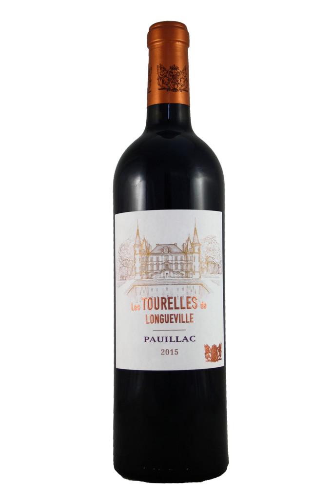 Les Tourelles de Longueville Pichon-Longueville Baron, Pauillac, Bordeaux 2015