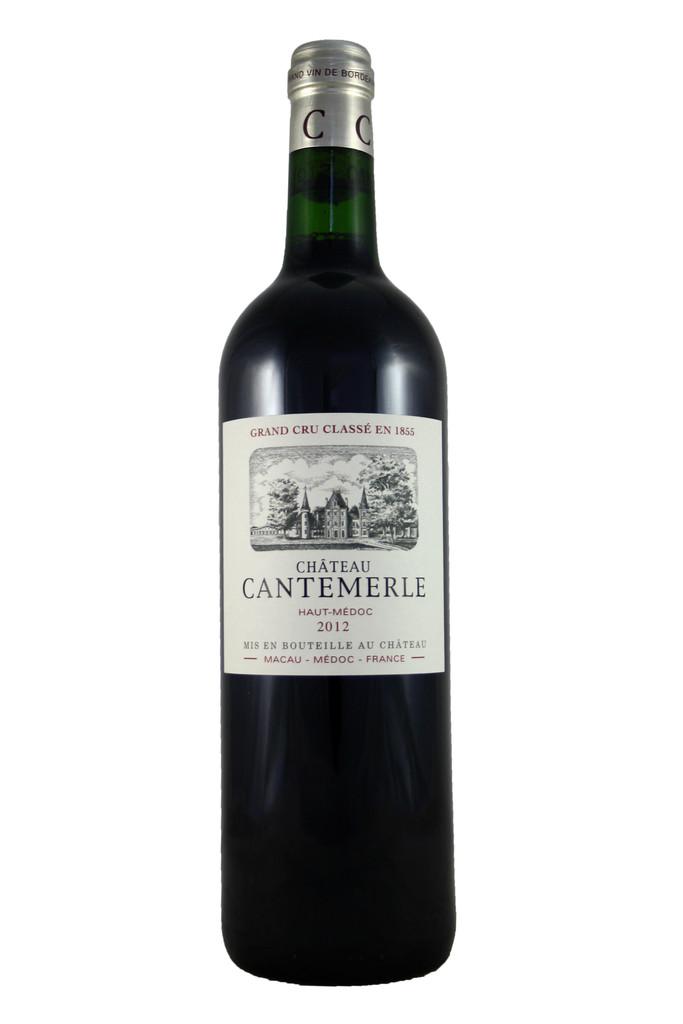 Château Cantemerle, Cinquième Cru Classe, Haut Medoc, Bordeaux, France, 2012