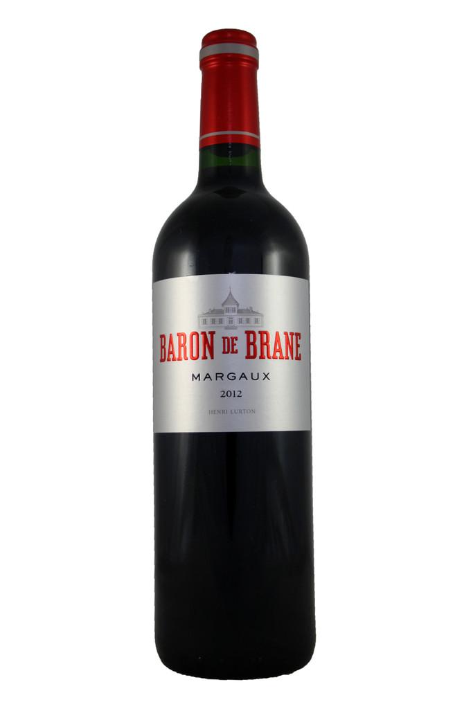 Baron de Brane, Château Brane Cantenac, Margaux, Bordeaux 2012