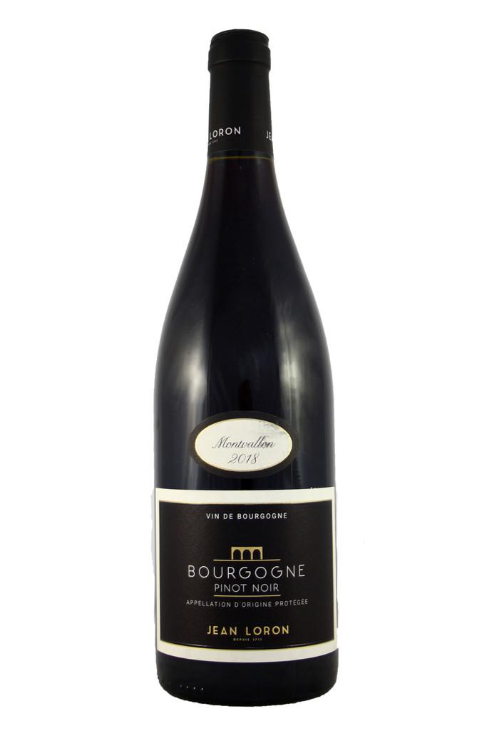 Bourgogne Pinot Noir Montvallon, Jean Loron 2018, Burgundy, France
