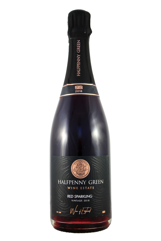 Halfpenny Green Red English Sparkling, 2018