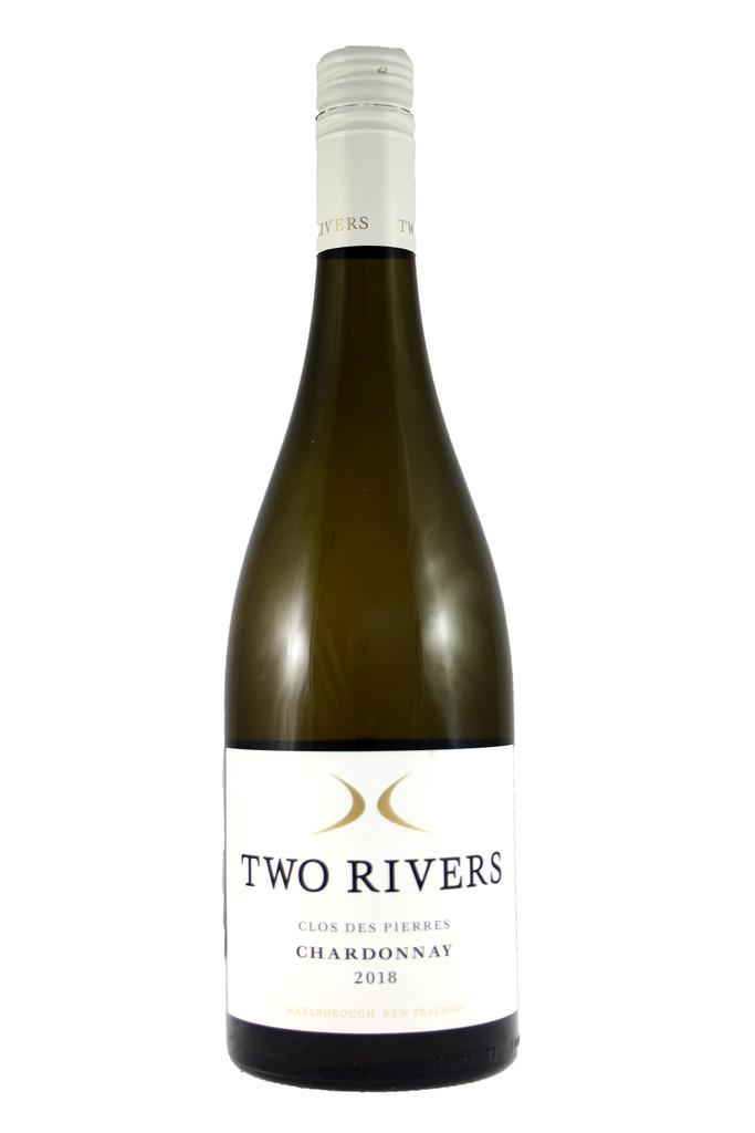 Two Rivers Clos des Pierres Chardonnay, Marlborough, New Zealand, 2018