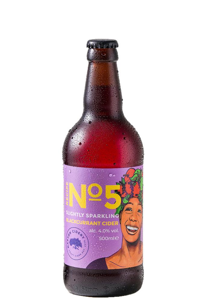 Napton Cidery Recipe No 5 Blackcurrant Cider